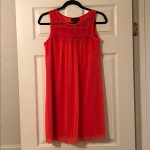 Orange ish dress perfect for any occasion!
